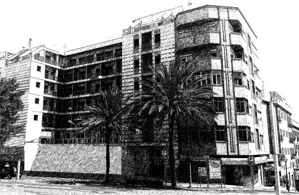 Estudio básico Hotel urbano 60 habitaciones en 1º de Mayo, las Palmas de G.C.