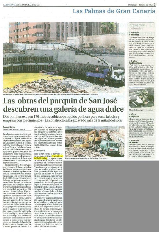 Aparcamiento de la Vega San José-Nueva Sede Judicial, Las Palmas de G.C.