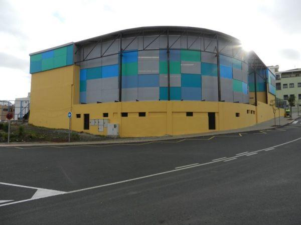 Cerramiento del terrero de lucha de Lomo Los Frailes, Las Palmas de G.C.