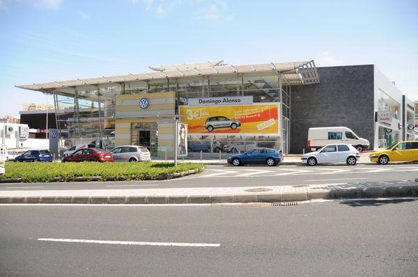 Proyecto básico de concesionario de automóviles para Domingo Alonso, Las Palmas de G.C.