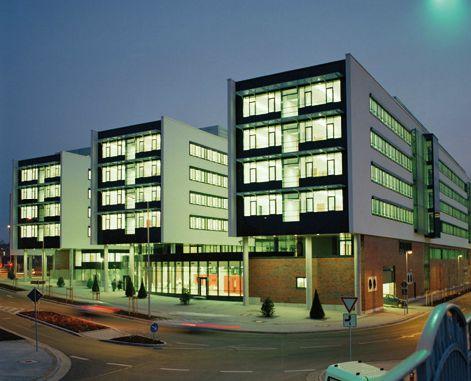 Oficinas y centro de control para DB-Netz, Leipzig