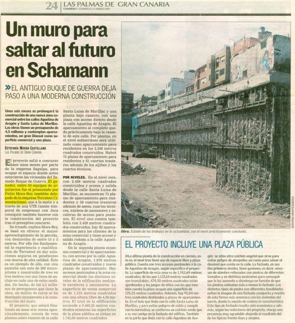 Aparcamiento y local comercial en Pedro Infinito, Las Palmas de G.C.
