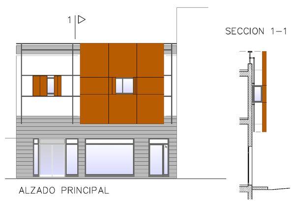 Edificio de 2 viviendas y local, Las Palmas de G.C