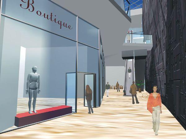 Anteproyecto de centro comercial para La Caja de Canarias en Triana, Las Palmas de G.C