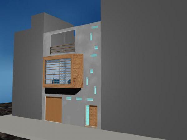 Reforma de fachada en edificio de viviendas en la calle Cirilo Moreno, Las Palmas de G.C.