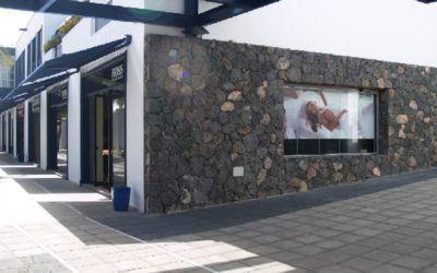 Reforma de un local para Hugo Boss en Puerto Calero, Lanzarote